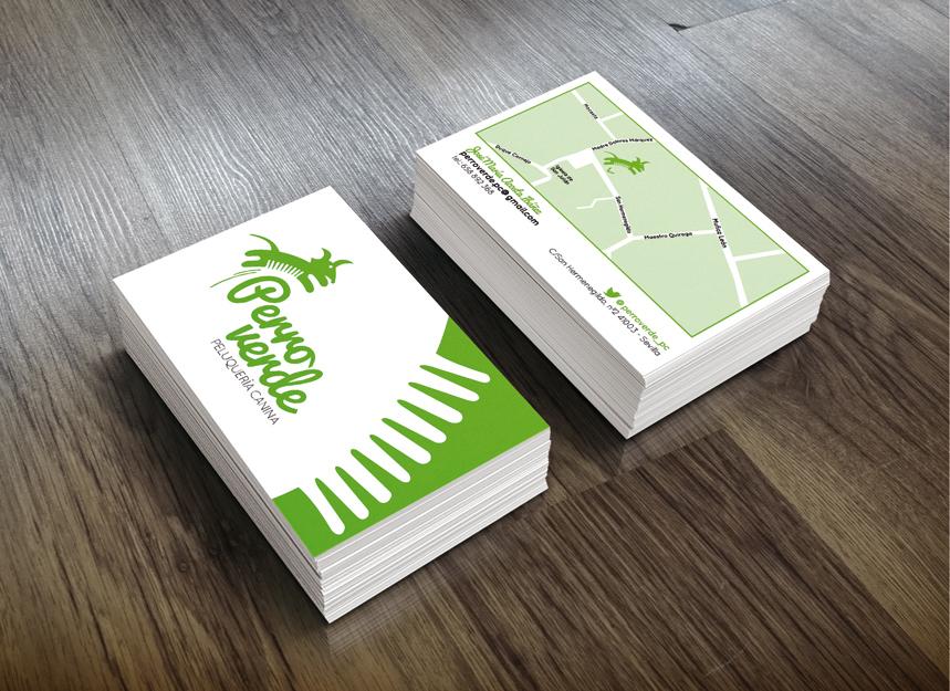 tarjetas_perro_verde