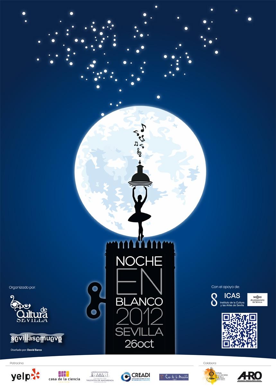 Cartel Noche en Blanco 2012