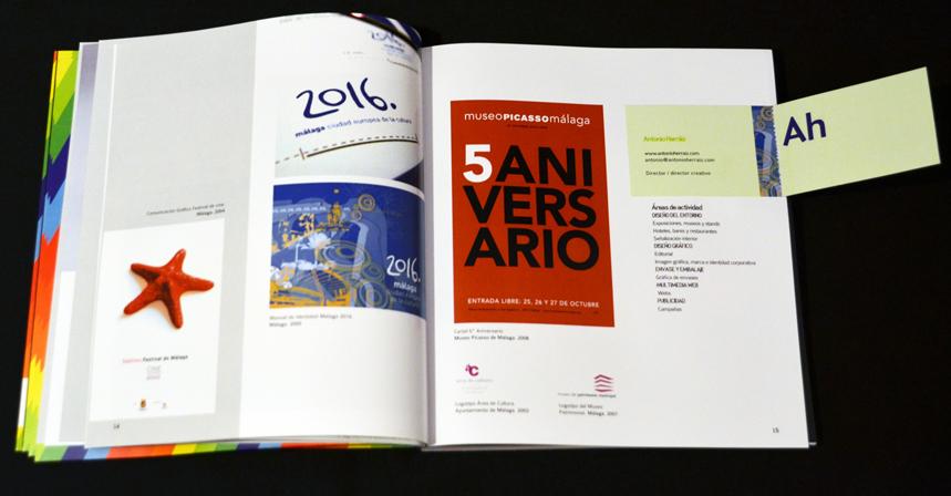 LIBRO 20 años por el diseño andaluz